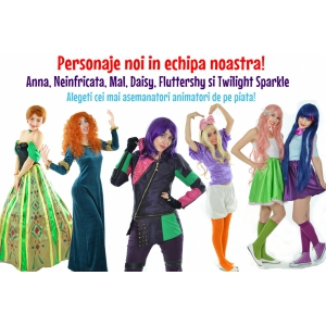 animatori petreceri copii. Cele mai talentate ursitoare si animatori pentru petreceri copii de la petrecericupersonaje.ro