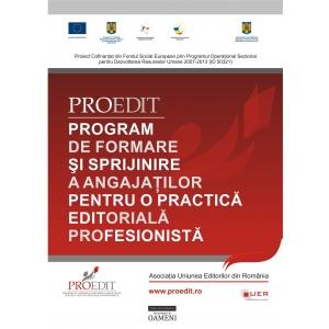 PROEDIT. Fonduri europene pentru investitia in resursele umane din sectorul editorial