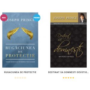 Goldbooks anunta lansarea a doua carti noi semnate de Joseph Prince