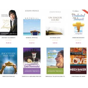 Libraria Gold Books aduce zeci de noi titluri crestine