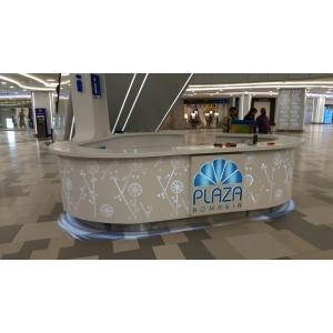 horeca. Receptie realizata in cadrul proiectului de reamenajare- Plaza Mall- Bucuresti