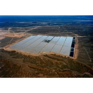 At around 2,635 kWhm2, the site in Ouarzazate has one of the highest levels of annual solar irradiance in the world
