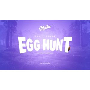 MILKA aduce vânătoarea de  ouă de Paște în online