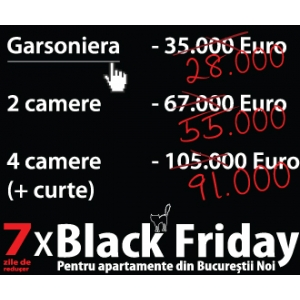 victoria consult real estate. Black Friday in zona Bucurestii Noi