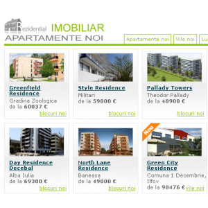 vanzari apartamente. Preturile apartamentelor noi au atins nivelul minim din ultimii ani