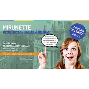 Castiga un loc intr-o tabără Mirunette in UK! Participa GRATUIT la concurs!