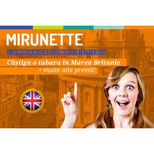 Concurs Mirunette.ro! Ultimele zile de inscriere!