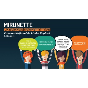 Mirunette Language Competition 2019 – etapa finală