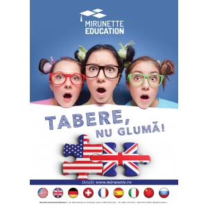 tabere internationale 2019. Tabere de vara Mirunette