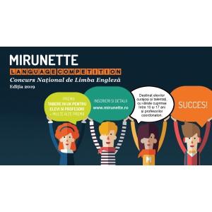 Ultimele zile de inscriere la Mirunette Language Competition