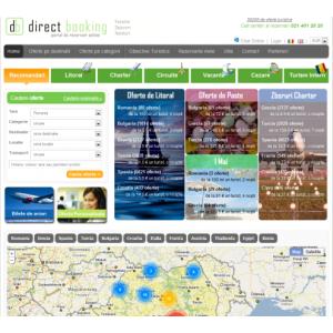 portal turism. Portal DirectBooking.ro