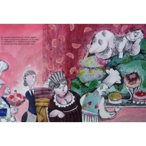 Arina Gheorghita - ilustratie de carte