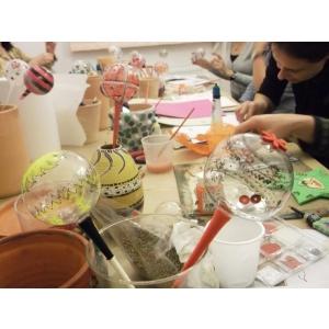 ateliere creative. Papusi, jucarii si cadouri de Craciun Ateliere creative la Fundatia Calea Victoriei