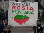 rosia montana. A inceput Marsul de Solidaritate cu Rosia Montana!