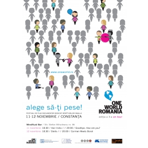 Festivalul de film ONE WORLD Romania vine la Constanta