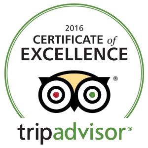 travelmaker. Certificat de Excelenta TripAdvisor 2016
