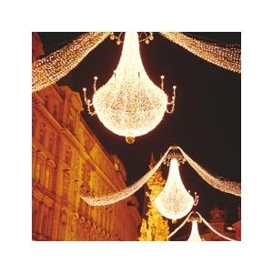 Instalațiile de Crăciun din Viena farmecă Bucureştiul