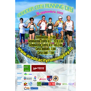 semimaraton. 3,2,1… START Oradea City Running Day
