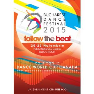 Dansatori din toata lumea participa la Bucharest Dance Festival 2015, editia a II-a, intre 20-22 noiembrie 2015