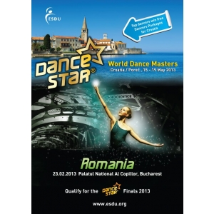 esdu dance star romania. START la inscrieri pentru ESDU DanceStar Romania 2013