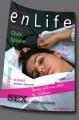 Regizoarea Chris Simion – O lansare de carte şi un pictorial senzational  în  enLife magazine din octombrie.