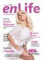Giulia Nahmany, vedeta emisiunii Transformarea, postul TVR1, este coperta Revistei enLife magazine din decembrie 2009