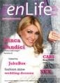 Ilinca Vandici, vedeta emisiunii ' Stele sub Lupa' este coperta enLIfe magazine ianuarie - februarie 2010