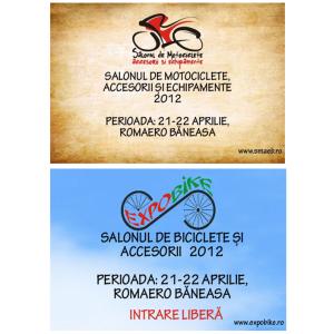 SMAEB SI EXPOBIKE 2012- SAMBATA ȘI DUMINICĂ 21-22 APRILIE 2012