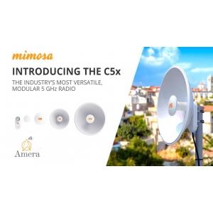 Amera Networks lanseaza Mimosa C5x in Romania, primul echipament radio pentru 5GHz cu antene modulare