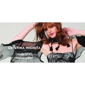 Cristina Nichita isi prezinta colectia EVENTS 2011 in COCOR