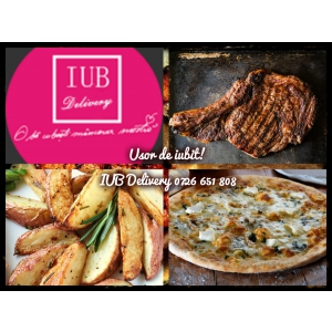 iub delivery. S-a lansat IUB Delivery, preparate de calitate de restaurant la prețuri mult mai prietenoase