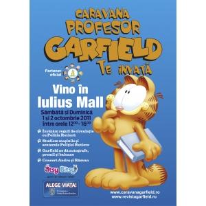CARAVANA GARFIELD AJUNGE IN ACEST WEEKEND IN CLUJ, LA IULIUS MALL