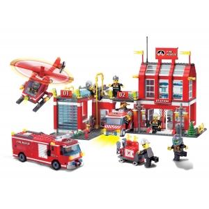 jucarii lego. Jucarii Lego City Statie de Pompieri
