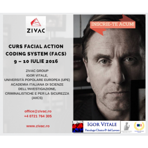 Curs FACS organizat de Zivac pentru prima data in Romania