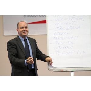 george avram. INTELIGENŢA EMOŢIONALĂ – gestionarea emoţiilor la locul de muncă şi Professional Business Presentations ambele susţinute de George Avram