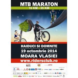 caldarusani. Peste 1000 de haiduci si domnite inscrisi la maratonul de ciclism de la Moara Vlasiei