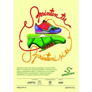 sprinten. MPG si Fundatia PROAM Events lanseaza proiectul social SPRINTEN