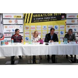 21 iunie 2014. URBATLON, conferinta de presa, 10 iunie 2014
