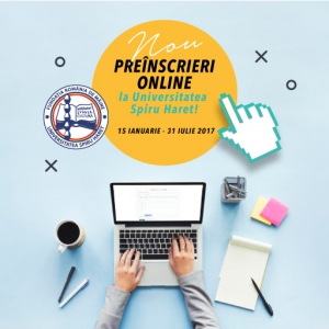 universitatea spiru haret. Preinscrieri online