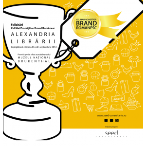 Alexandria Librării-Cel mai promițător brand românesc în 2012