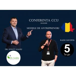 antreprenori. Conferinta CCU - Modele de antreprenori romani