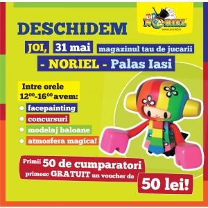 magazin iasi. Deschiderea magazinului Noriel la Palas Iasi, 31 mai 2012.