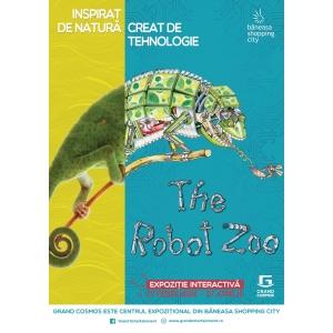 revista cosmos. The Robot Zoo, expoziţia interactiva a animalelor robotizate, vine la Grand Cosmos, în Băneasa Shopping City