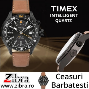 Quartz. Ceas barbatesc Timex Intelligent Quartz T2P427