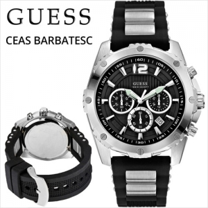 ceas guess. Ceas barbatesc Guess INTREPID W0167G1