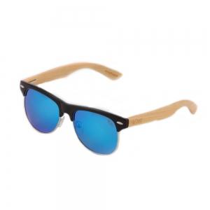 Ochelari de soare polarizati brate din bambus Pedro 1201M-4