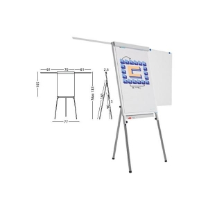 office. Flipchart cu brate laterale