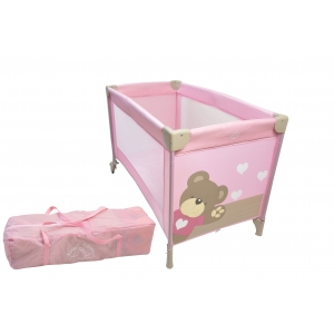 creare pliante. Patut pliant Little Bear Rose King Bear