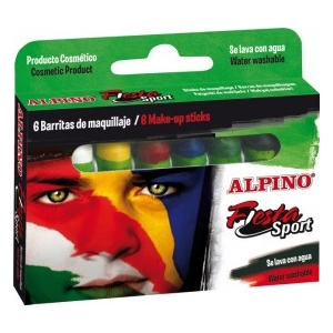 machiaj. Set machiaj copii pasta ALPINO Fiesta Sport