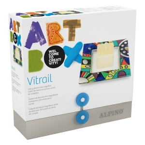 creatie. Set creatie copii ALPINO Art Box Vitrail